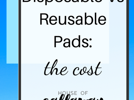 Disposables Vs Cloth: The Cost