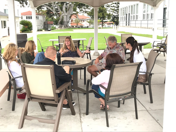 Breakout caregiver discussion group