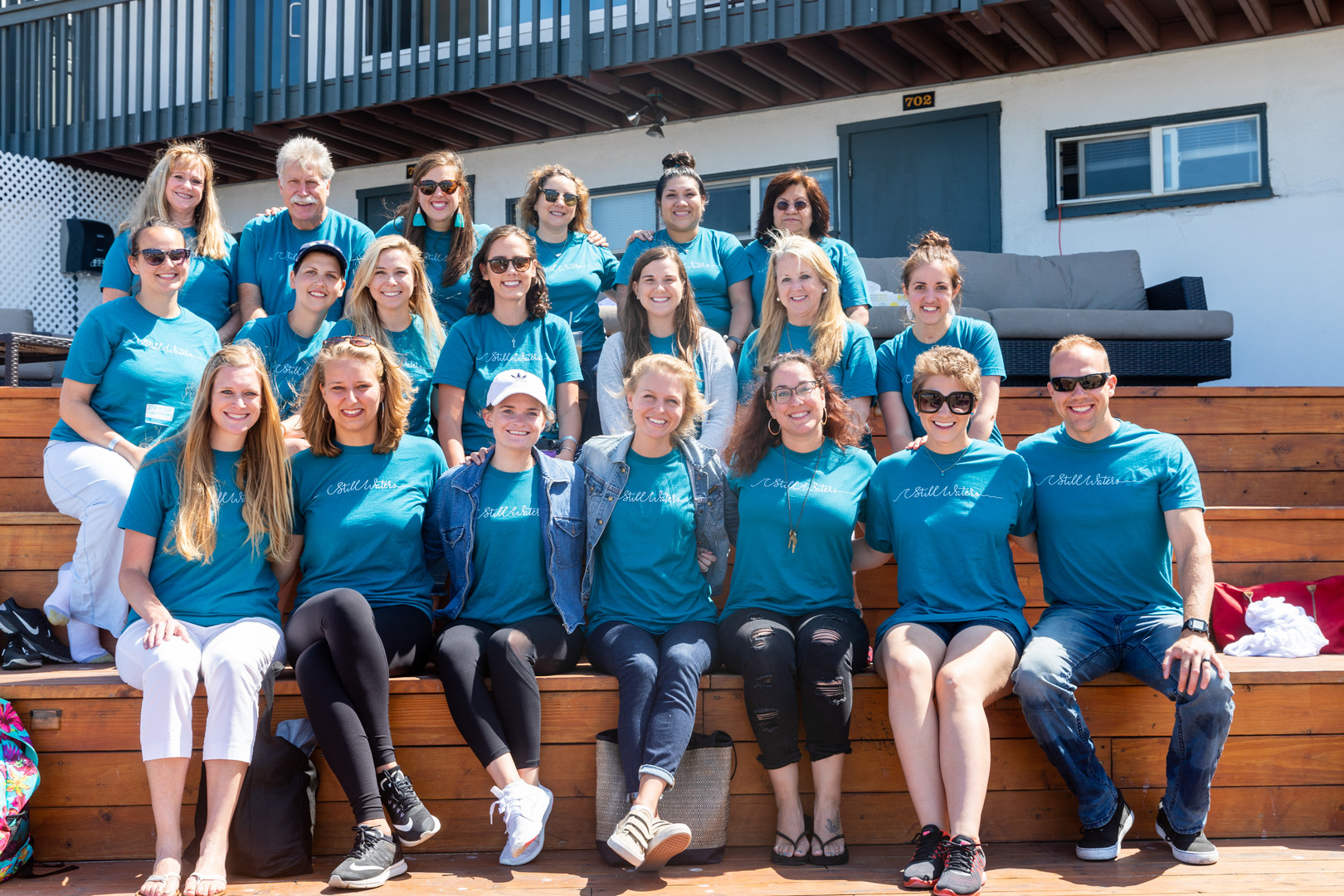 The inaugural class of Still Waters Cancer Retreat attendees