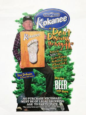 Kokanee Beer Store Display