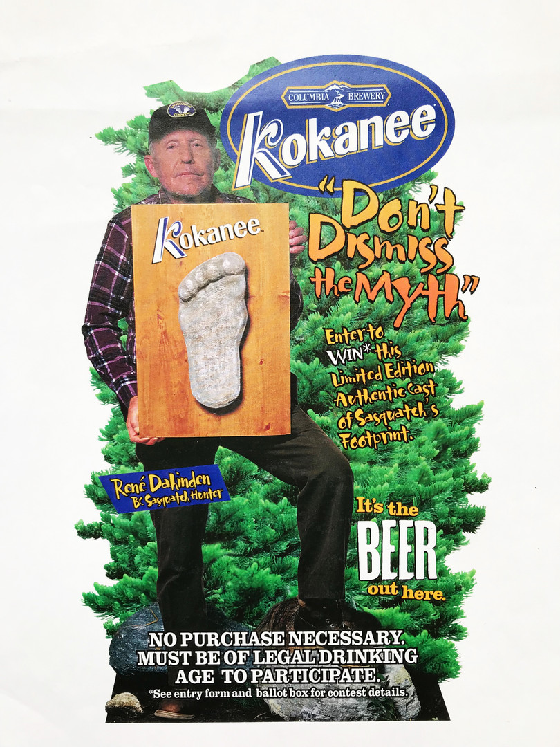 Kokanee Beer Store Display