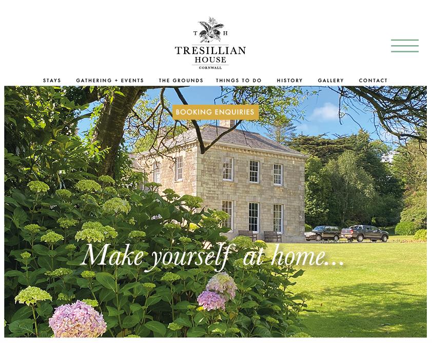 Tresillian House Cornwall