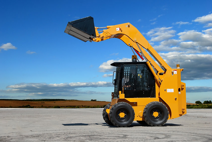 skid steer loader construction machine w
