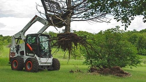 Post & Tree Puller w/brush guard