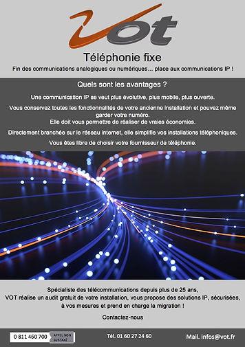 Vot téléphonie fixe