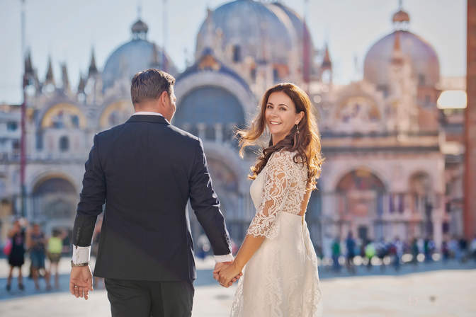 Photoshooting Lune de miel à Venise