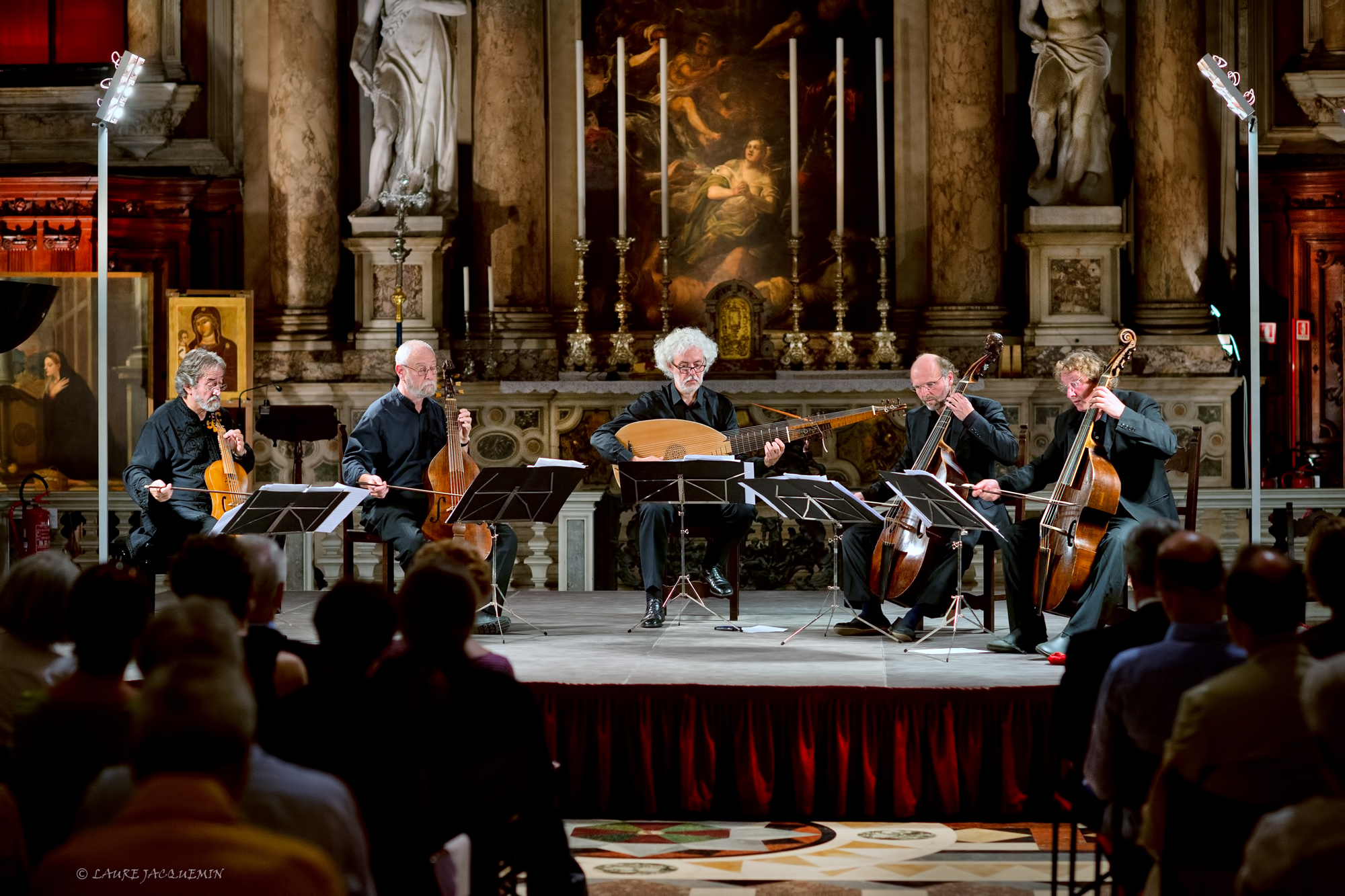 venice concert Monteverdi Vivaldi 2014 - Scuola Grande di San Rocco - laure jacquemin (11)