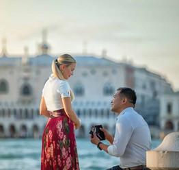 shooting demande en mariage a venise  (4
