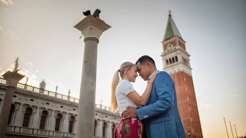 shooting demande en mariage a venise  (3
