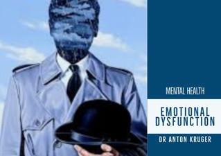 Emotional Dysfunction Disorder