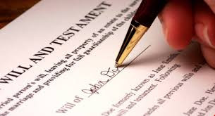 What happens if I am married and I die without a will?