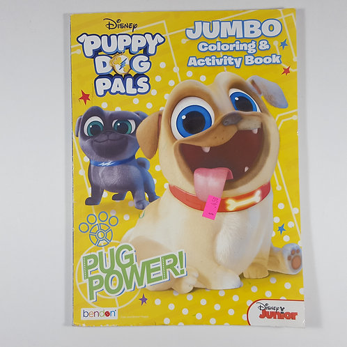 Disney's Puppy Dog Pals: Jumbo Coloring & Activity book