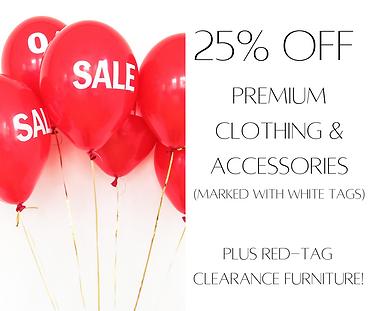 25% off premium-brand clothing & accesso