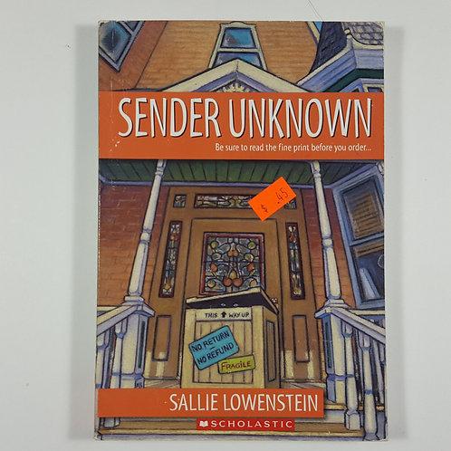 Sender Unknown