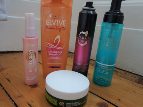 Products I've used up: #1