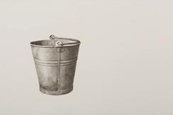Still thinking 1 (Bucket III), 2020