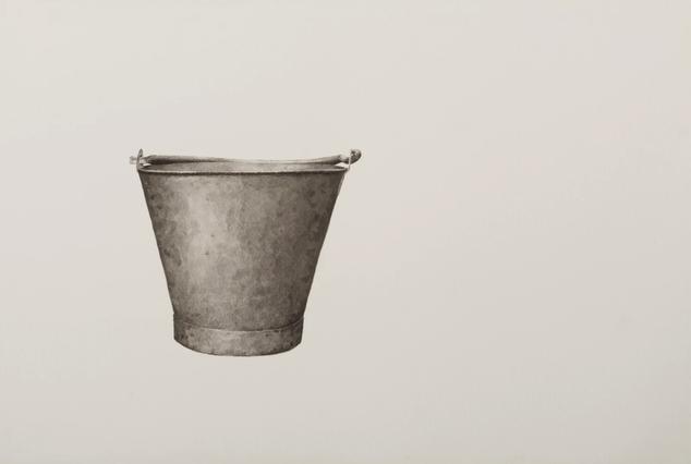 Still thinking 2 (Bucket III), 2020