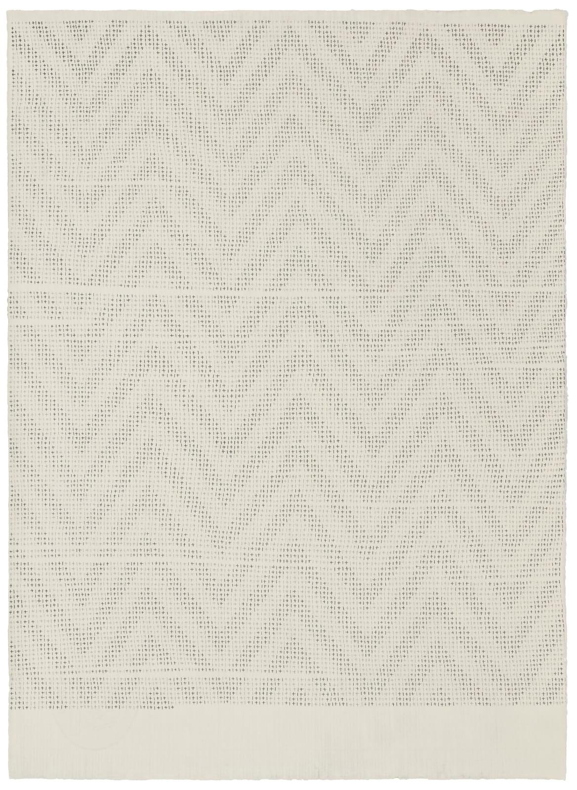 061217, 2017 Pencil on handmade cotton paper (Fabriano Roma), 66 x 48 cm | 26 x 18 7/8 in