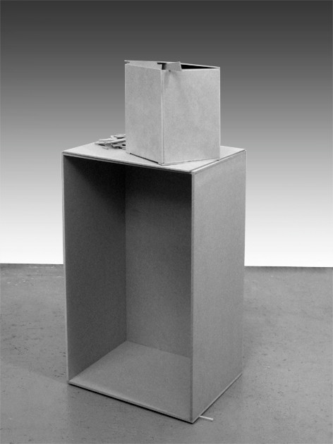 Boxes for rhinking about opening Fig.6, 2010
