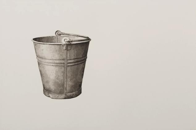 Still thinking 1 (Bucket II), 2020