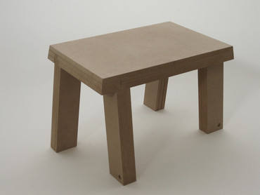 Stool for standing turning clockwise, 2011