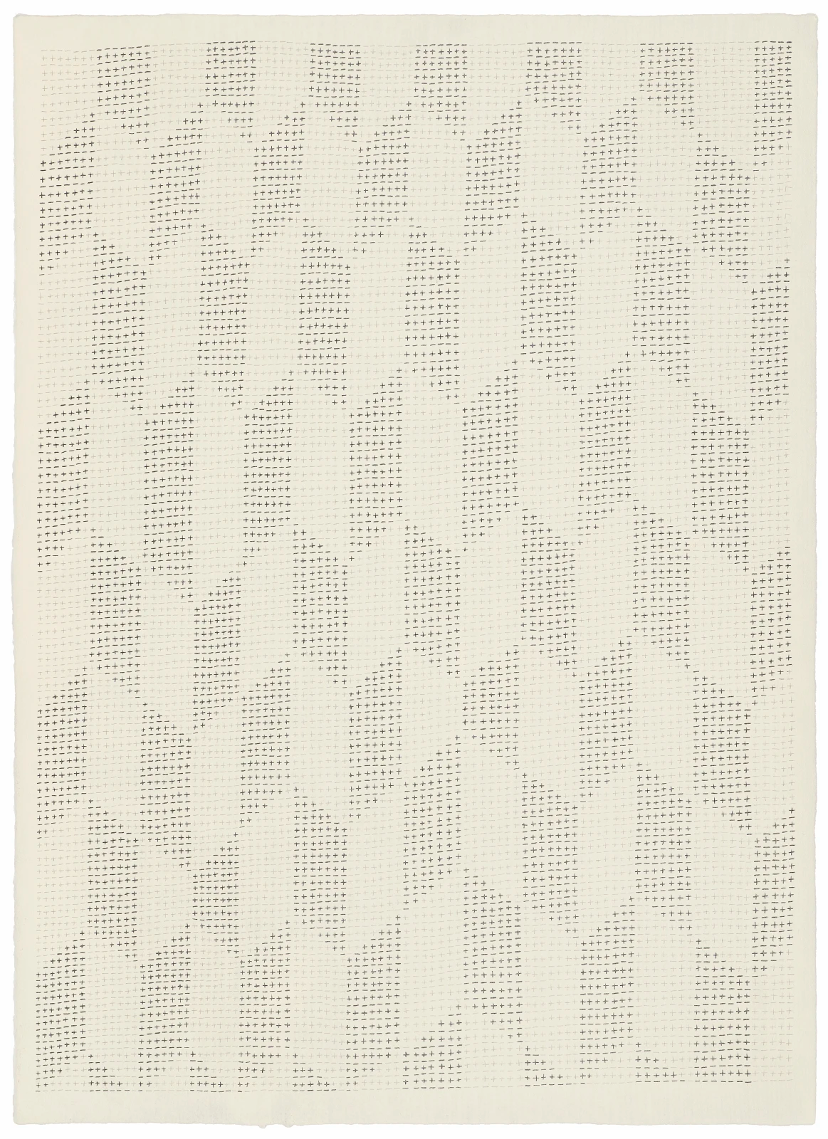 201117, 2017 Pencil on handmade cotton paper (Fabriano Roma) 66 x 48 cm | 26 x 18 7/8 in