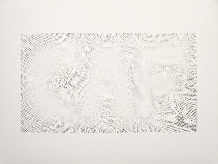 XOF, Pencil on paper, 500 mm x 700 mm