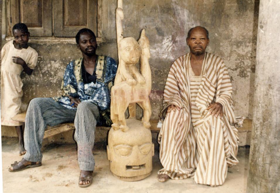 Segun Faleye and Bamidele Areogun