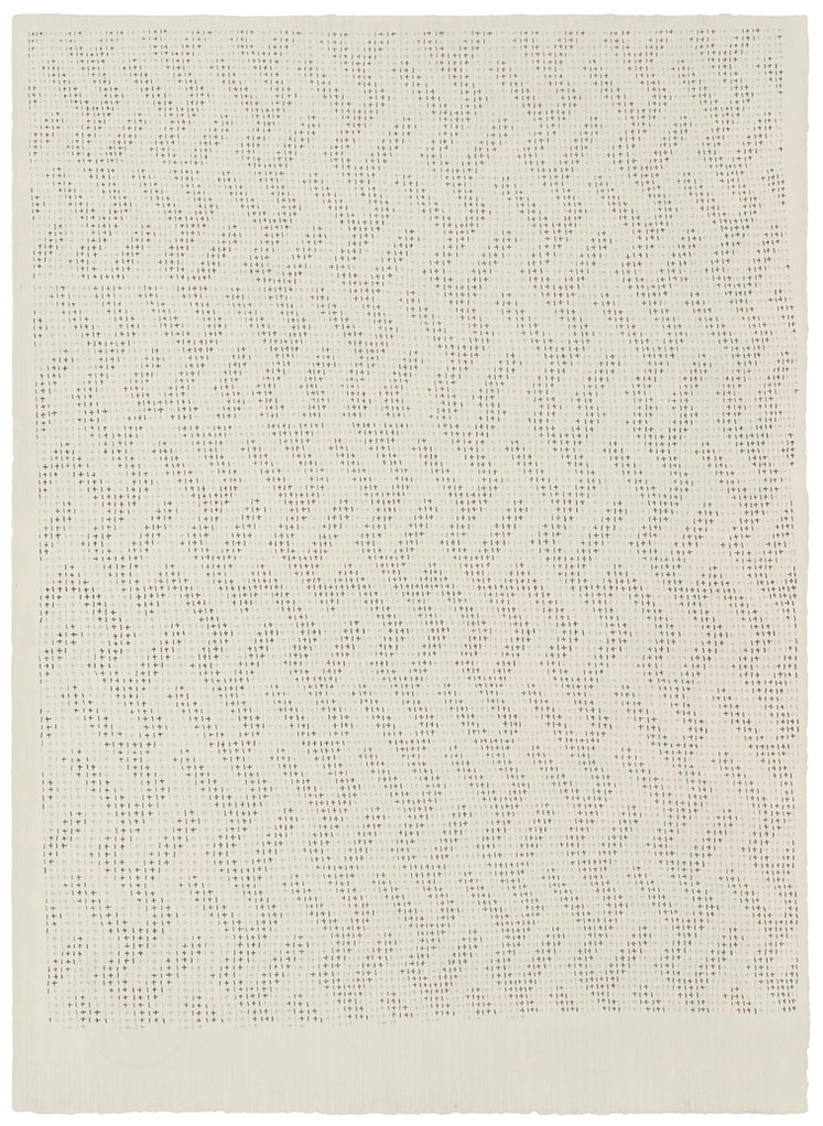 301117, 2017 Pencil on handmade cotton paper (Fabriano Roma), 66 x 48 cm | 26 x 18 7/8 in