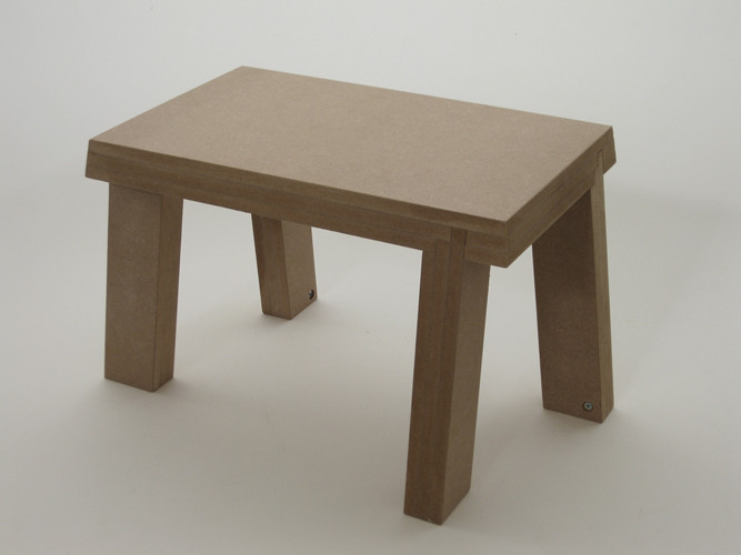 Stool for standing turning anti-clockwise, 2011