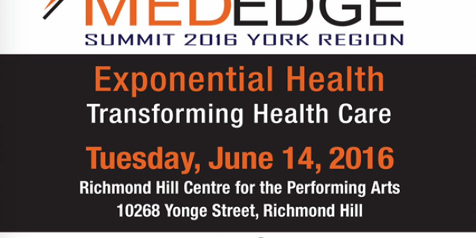 MedEdge Summit 2016