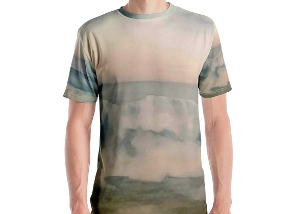 Pacific Waves Goodbye #2 Men's T-shirt