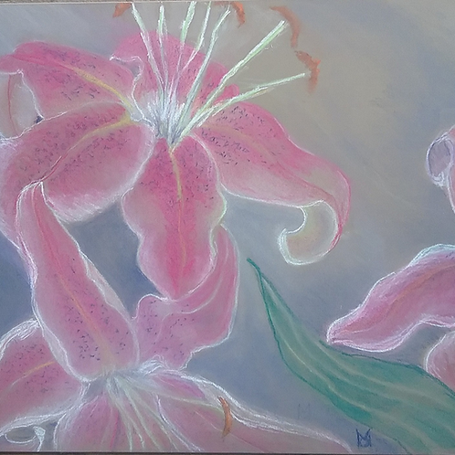 Lilies in The Mist