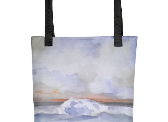 The Pacific Waves Goodbye #1 Tote bag