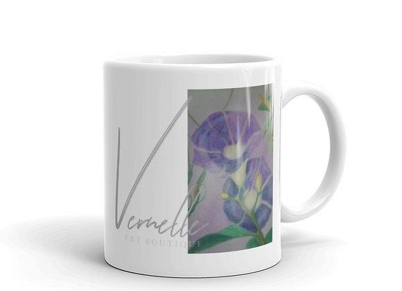 Glories White Glossy Mug
