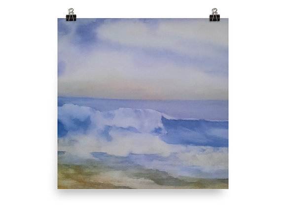 The Pacific Waves Goodbye #2 Digital Print