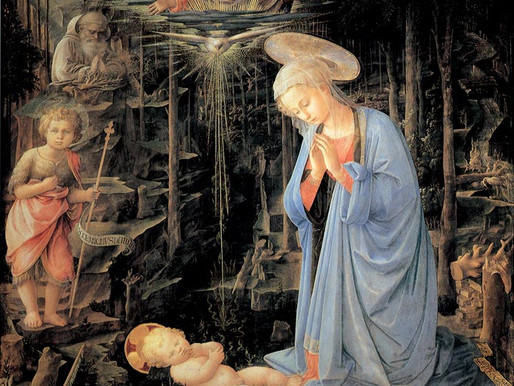 Fra Filippo Lippi: The Madonna in the Forest.