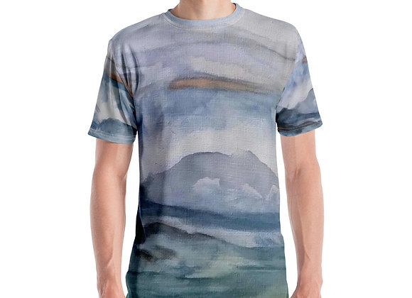 Pacific Waves Goodbye #3 Men's T-shirt