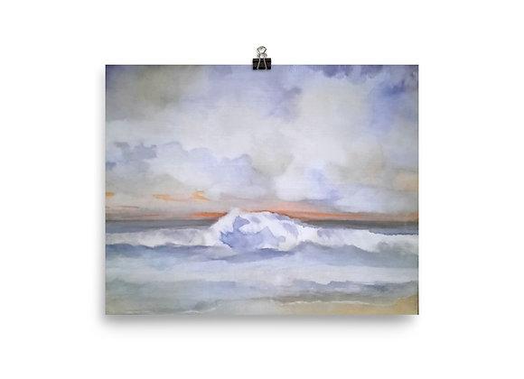 The Pacific Waves Goodbye #1 Digital Print