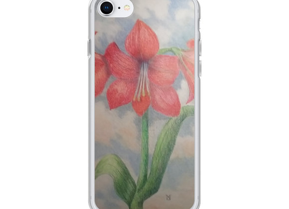 Amaryllis In The Clouds iPhone Case