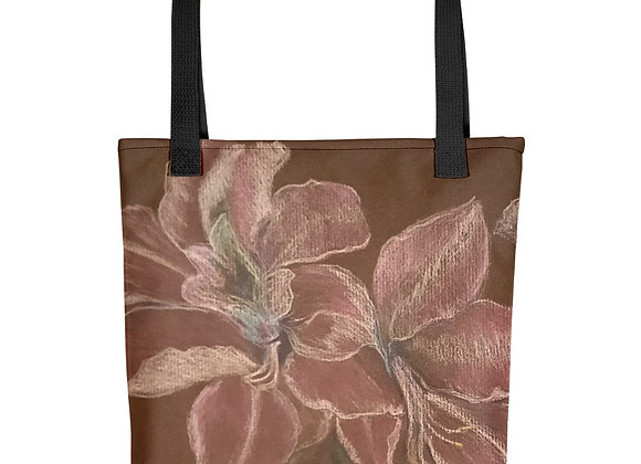 Luminous Amaryllis Tote bag
