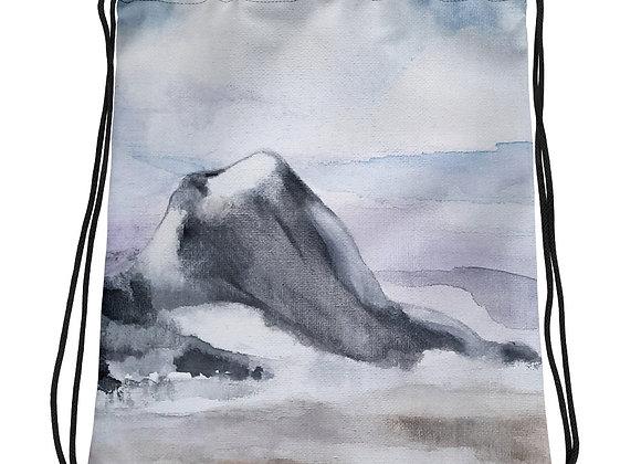 A Sphinx Drawstring bag