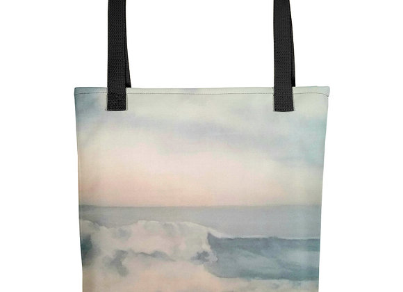The Pacific Waves Goodbye #2 Tote bag