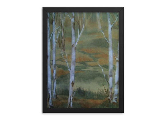 Forest of Fairies Framed poster