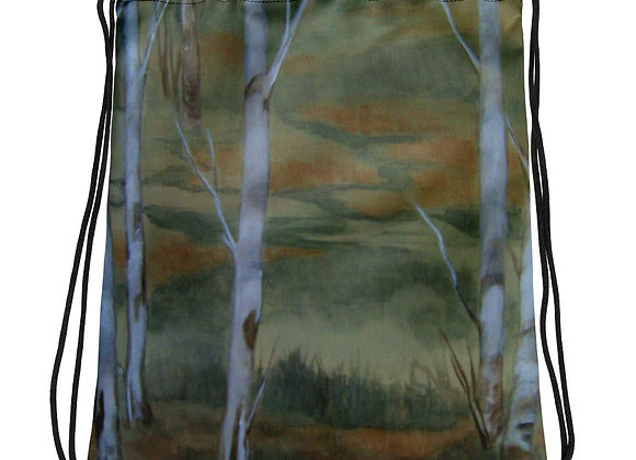 Forest of Fairies Drawstring bag