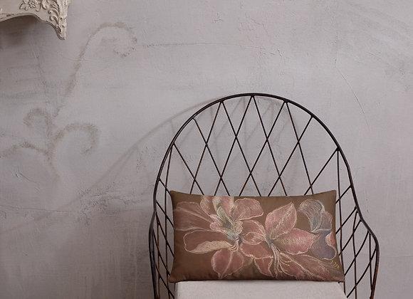 Luminous Amaryllis Rectangle Pillow