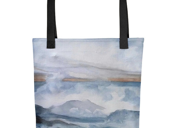 The Pacific Waves Goodbye #3 Tote bag