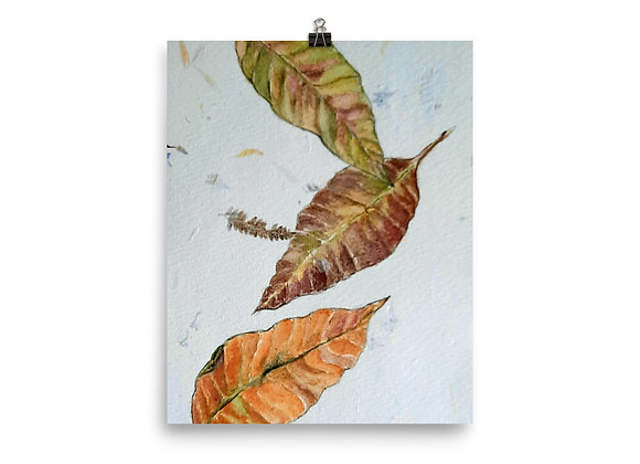 Falling Leaves Digital Print