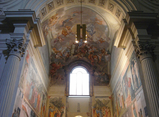 Masaccio, Masolino and Filippino in the Brancacci Chapel
