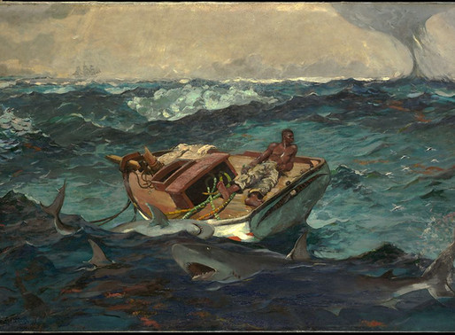 Winslow Homer: Life and Death Upon the Waters - The Gulf Stream